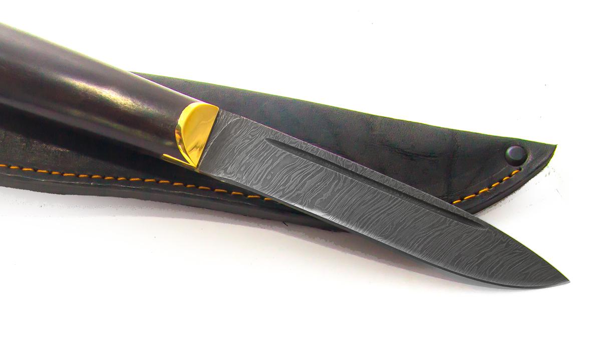 Фото 3 - Нож Абхазский средний, дамаск от Мастерская Сковородихина