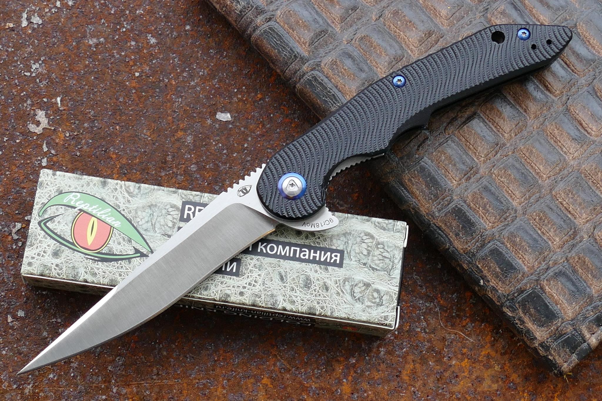 Нож  ЗубочисткаРаскладные ножи<br>марка стали: 9Cr18MoVтвёрдость: HRC57-58длина общая: 233ммдлина клинка: 102ммширина клинка наибольшая: 22ммтолщина обуха: 3ммвес: 95.4гртип замка: liner lockМеханизм открытия: IKBS (шарикоподшипниковая система)каждый нож имеет свой номер<br>