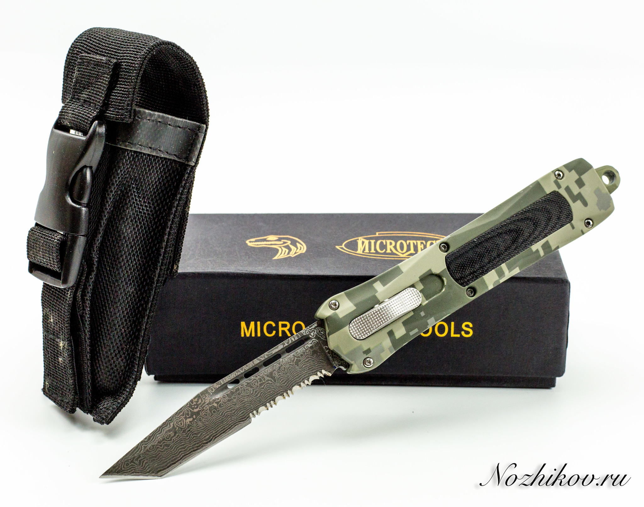 Нож Microtech Troodon, камуфляж-2 microtech troodon