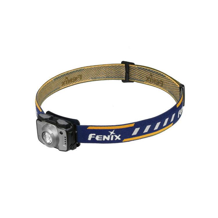 Налобный фонарь Fenix HL12R Cree XP-G2, серыйСветодиодные фонари<br>Фонарь Fenix HL12 – компактная налобная модель для туризма и занятий спортом на природе. Этот фонарь укомплектован всем необходимым, чтобы надежно работать в полевых условиях и обеспечивать своему владельцу комфортные условия видимости в любой ситуации. Данный фонарь работает с двумя встроенными диодами: белым XP-G2производства американского бренда Cree и вспомогательным красным. Доступное для него количество рабочих режимов – 8. Но все эти режимы распределены между двумя группами, поэтому выбрать нужный будет не сложно. К тому же, система управления в данной модели сделана действительно логичной.<br>В группу General mode вошли 4 режима яркости белого света. Среди них наиболее яркий – это режим High, который дает 170 люмен света. В этом режиме фонарь светит на 36 метров вокруг. Энергии аккумулятора достаточно, чтобы поддерживать его на протяжении 8 часов. Следующий в прядке убывания яркости – режим Med. Его яркость равна 70 люмен, притом, что свет распространяется на 26 метров вокруг фонаря. Заряда встроенного аккумулятора хватает для работы фонаря в течение 13 часов. Еще ниже яркость в режиме Low- 30 люмен. В данном режиме фонарь освещает объекты в радиусе 17 метров, работая автономно до 33 часов. Наконец, в режиме Eco модель Fenix HL12 светит с яркостью 4 люмена. В данном случае радиус освещения составляет всего 7 метров, зато фонарь может работать беспрерывно до 110 часов.<br>Вторая группа режимов называется Functionalmode и объединяет 3 варианта освещения. Первый из них – это режим Red. Он дает постоянный красный свет, яркость которого равна 1 люмен. Радиус освещения составляет 3 метра, а время работы фонаря – 40 часов. С такой же яркостью и радиусом освещения работает режим RedFlash. Это мигающие вспышки красного света. Фонарь Fenix HL12 может работать в таком режиме 80 часов. Третий режим из группы – SOS. Яркость луча составляет 30 люмен, радиус освещения – 17 метров, а период работы фонаря – 
