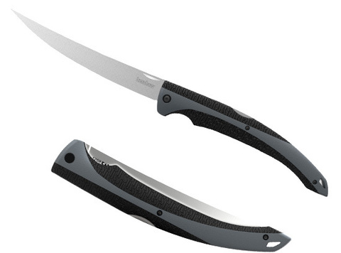 Нож филейный складной KERSHAW Folding Fishing Fillet - Nozhikov.ru