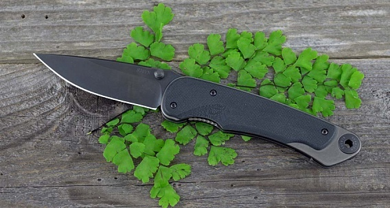 Фото 5 - Нож складной Spartan Blades Akribis Meteorite Grey, сталь CPM-S35VN с DLC покрытием, рукоять титан/G-10 Scales