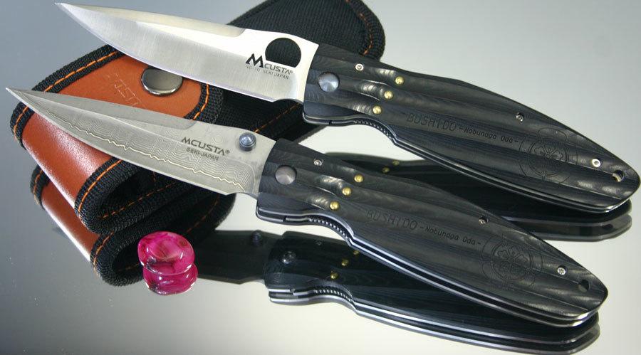 Фото - Складной нож Mcusta MC-0181D, VG-10, микарта