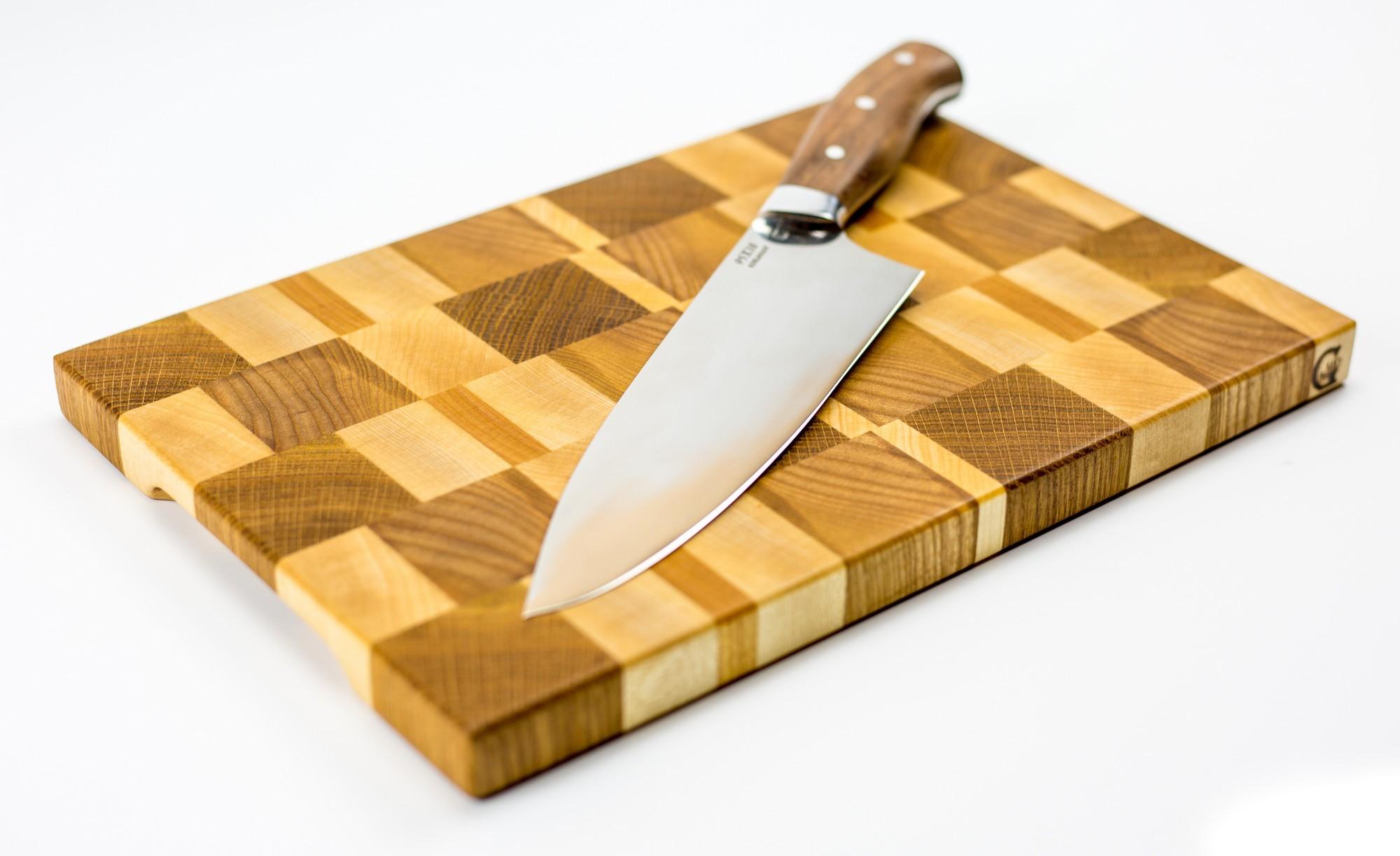 """Доска разделочная торцевая, стандартная, 20х30х2 см от Магазин ножей """"Ножиков"""""""