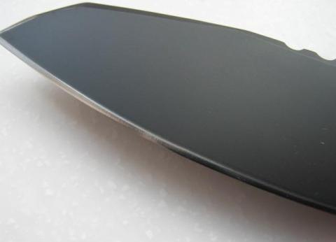 Фото 2 - Нож с фиксированным клинком Extrema Ratio Task Compact Black, сталь Bhler N690, рукоять прорезиненный форпрен