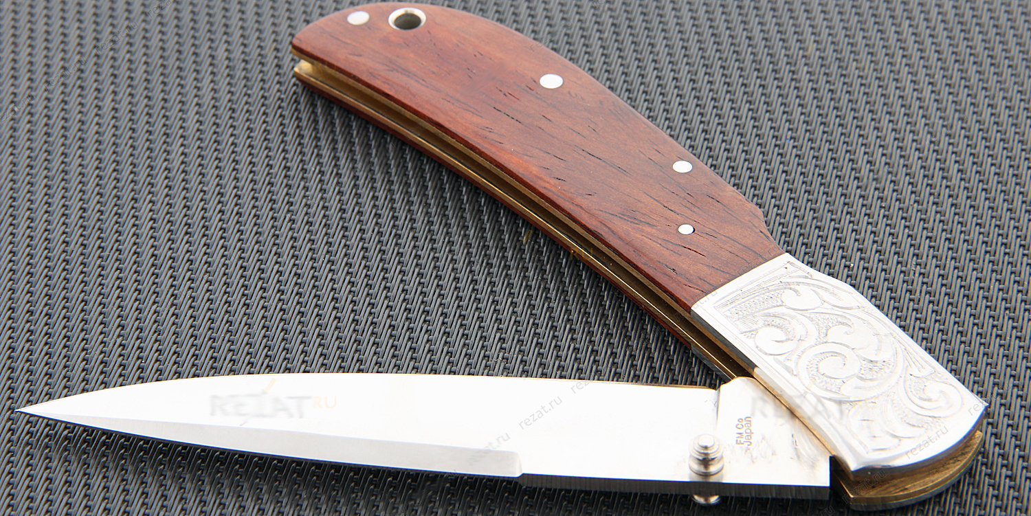 Нож складной Special Edition Eagle Classic, Cocobolo, Talon™ Blade, Engraved Bolsters 10.2 см.