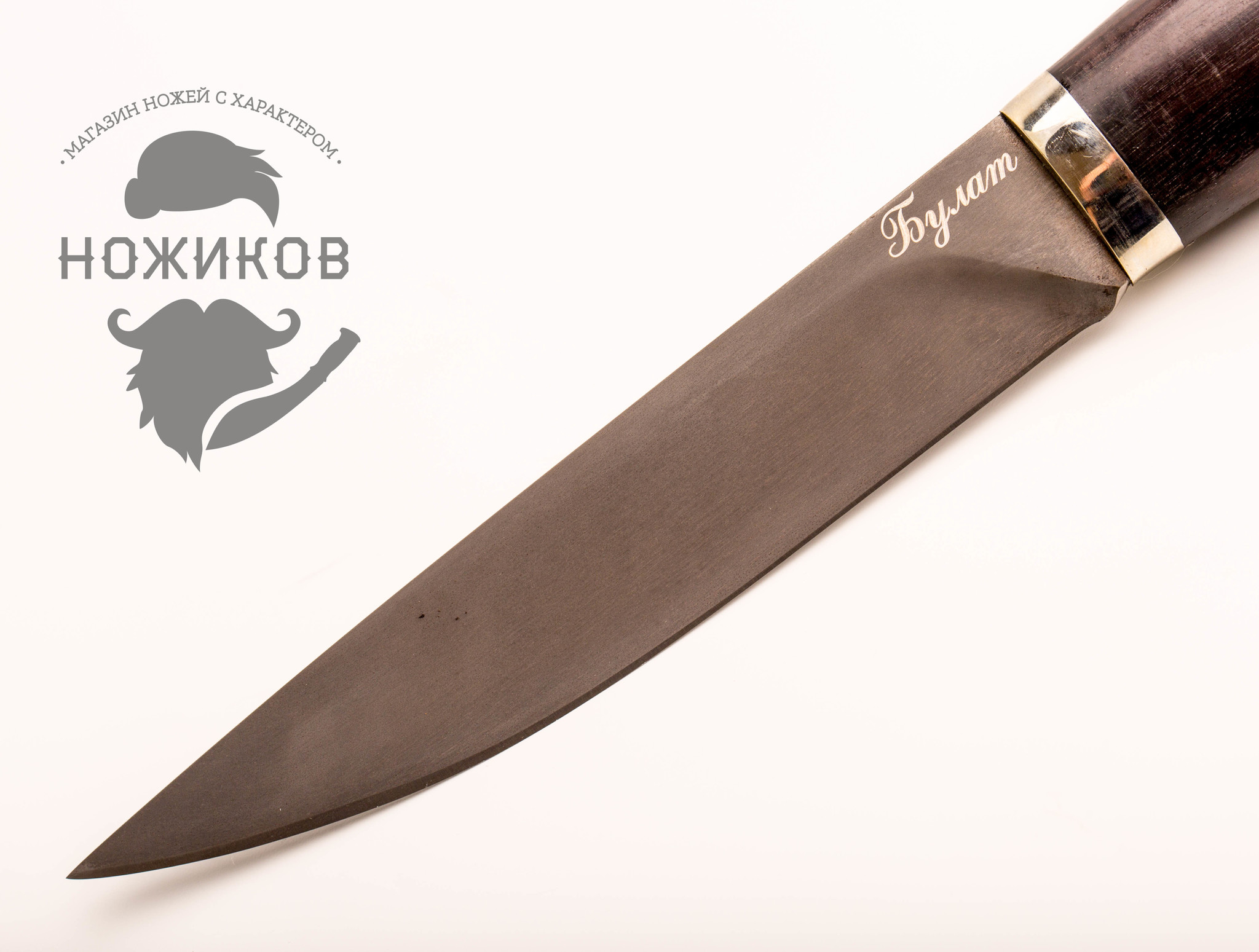 Фото 9 - Нож Якут булат, граб от Мастерская Климентьева