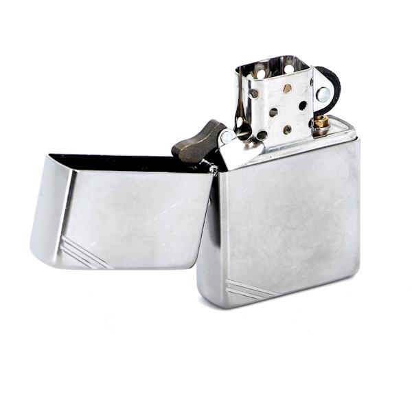 Фото 2 - Зажигалка ZIPPO Replica™ с покрытием Street Chrome™, латунь/сталь, серебристая, матовая, 36x12x56 мм