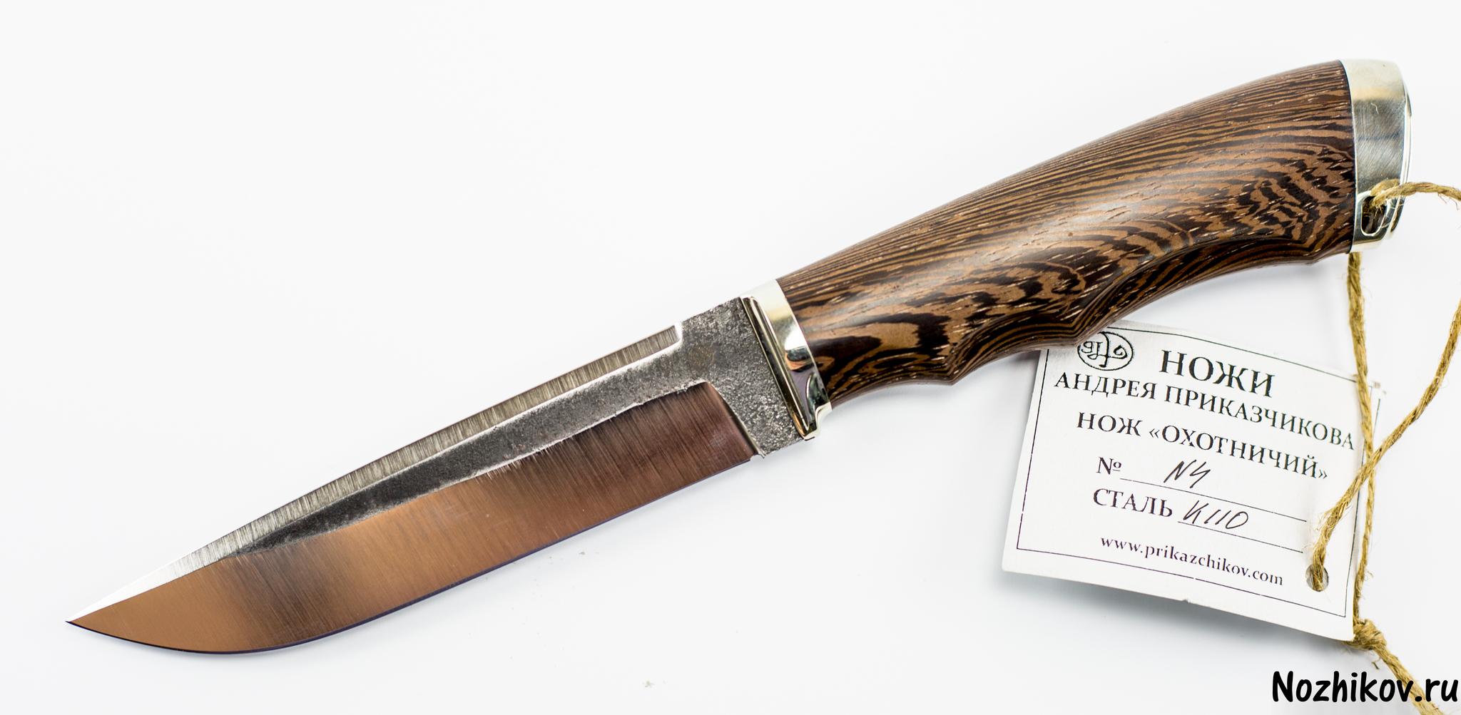 Нож Рабочий №4 из K110, от ПриказчиковаНожи Павлово<br><br>