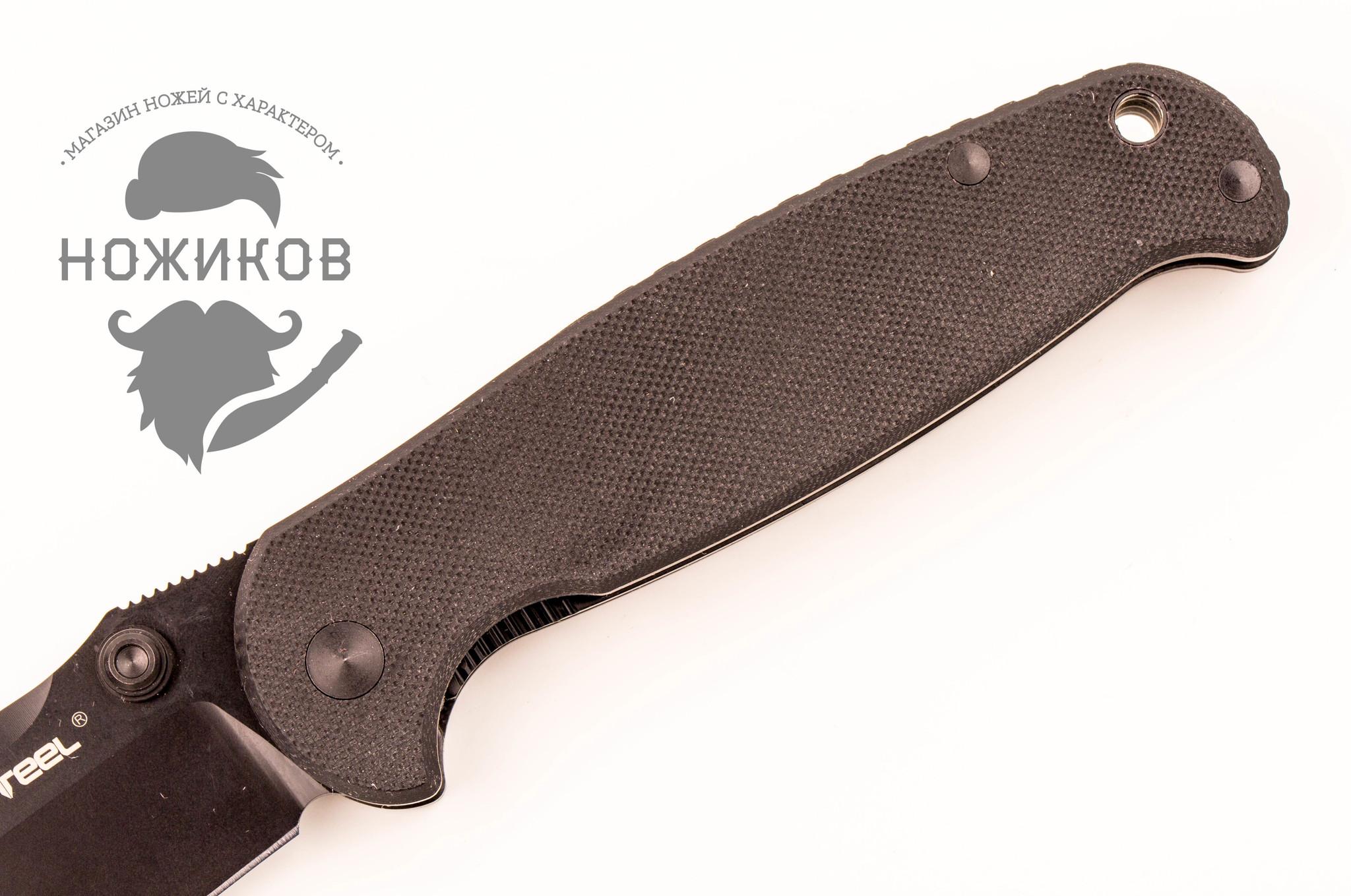 Фото 5 - Складной нож Blue Sheep, H6 All Black от Realsteel