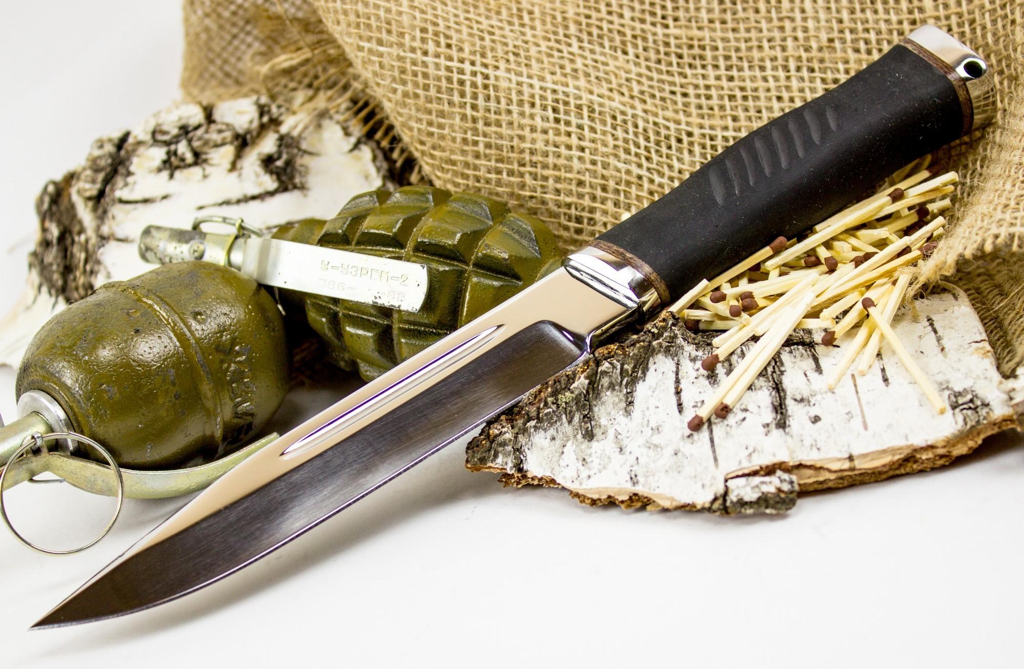 Фото 2 - Нож Казак-1, сталь 65х13 от Титов и Солдатова