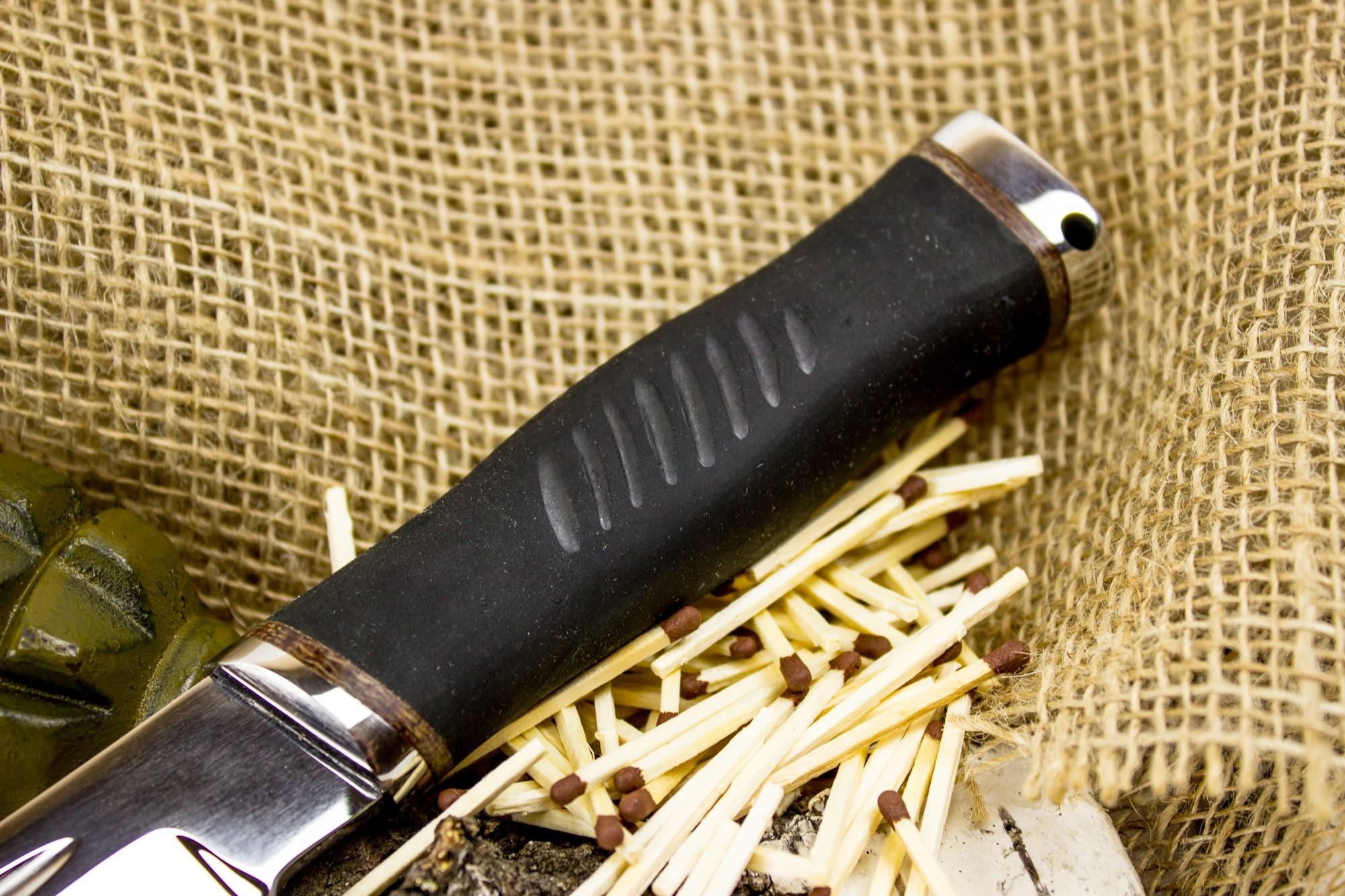 Фото 4 - Нож Казак-1, сталь 65х13 от Титов и Солдатова