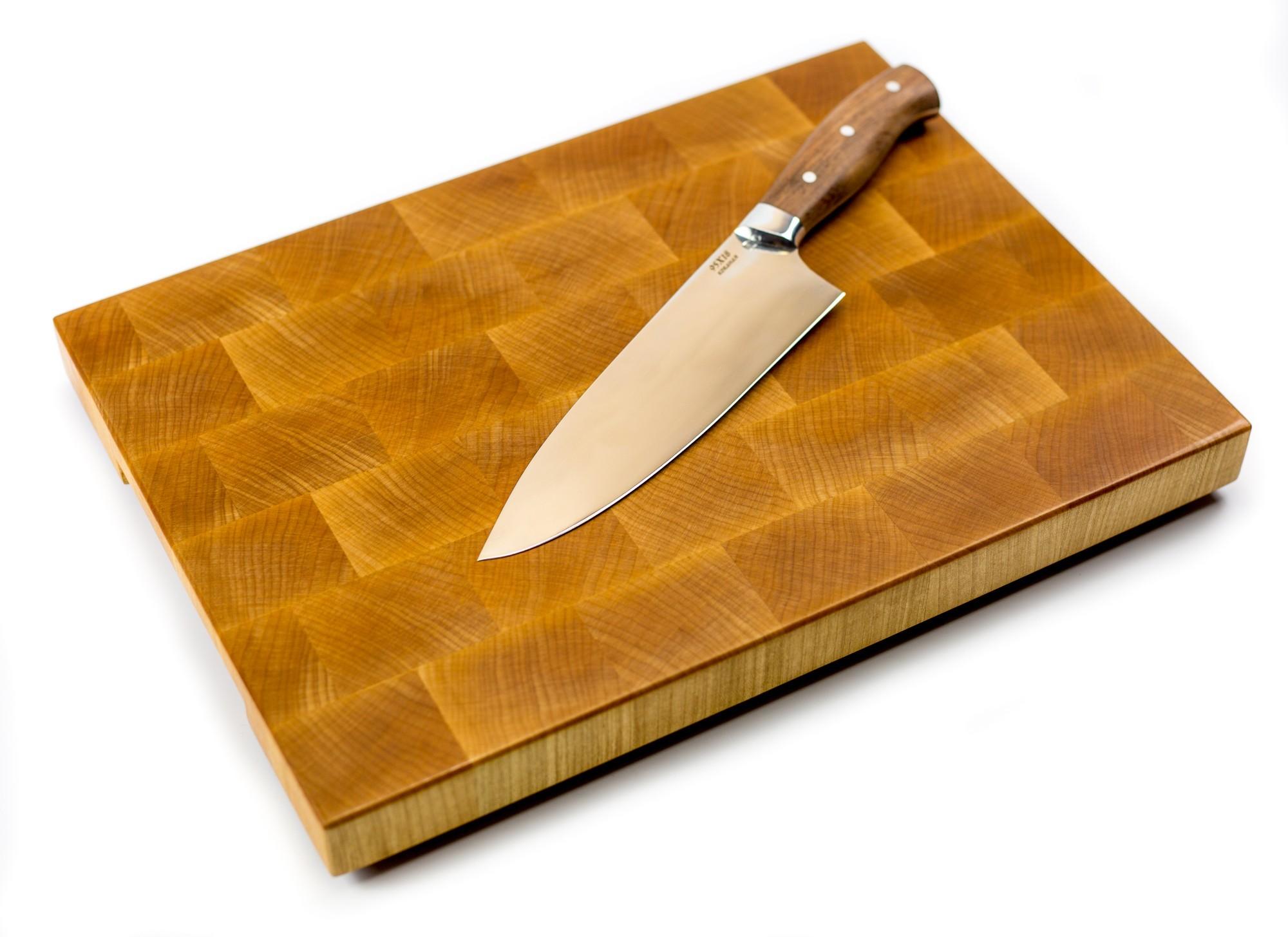"""Доска разделочная торцевая, клен, 27х37х3 см от Магазин ножей """"Ножиков"""""""