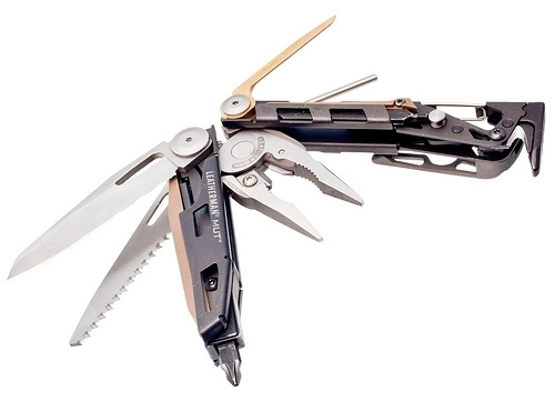 Фото 2 - Мультитул Leatherman MUT (850112N), 16 функций