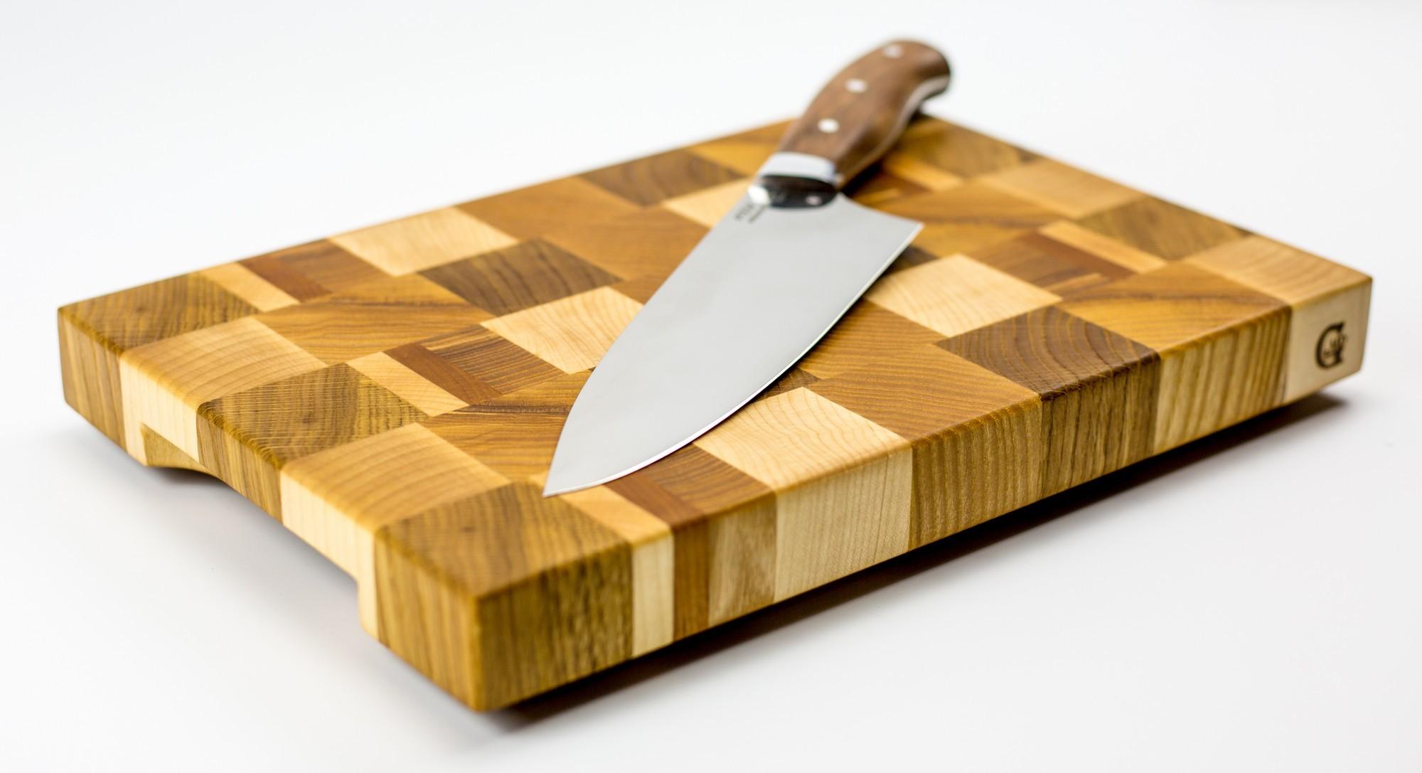 """Доска разделочная торцевая, стандартная, 20х30х3 см от Магазин ножей """"Ножиков"""""""