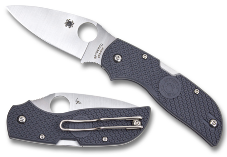 Складной нож SPYDERCO CHAPARRAL GRAY FRN нож складной dyad gray g 10