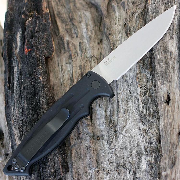 Фото 3 - Полуавтоматический нож Benchmade Mini-Reflex II 2551, сталь 154CM, рукоять алюминий