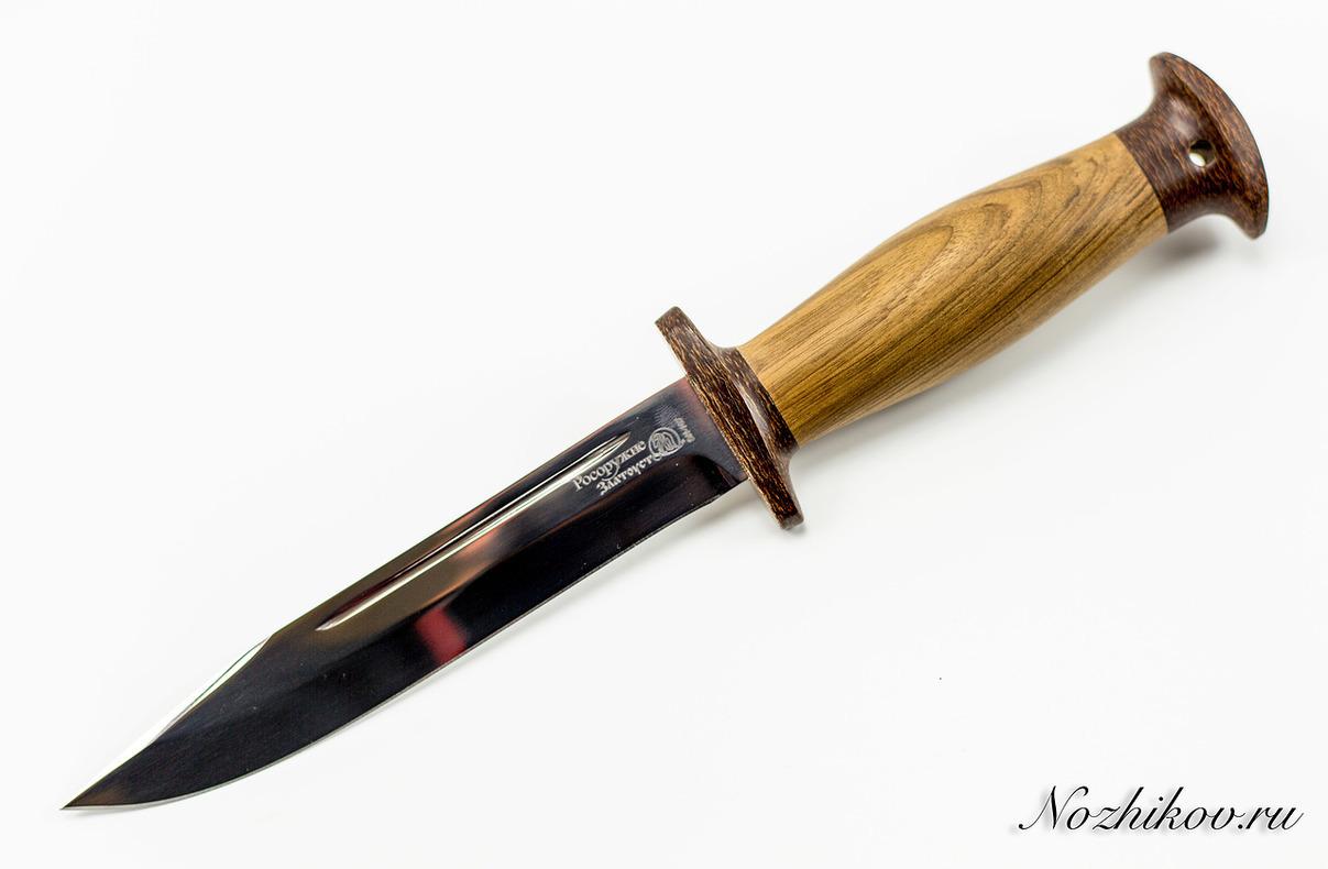Нож Разведчик в орехе, Златоуст