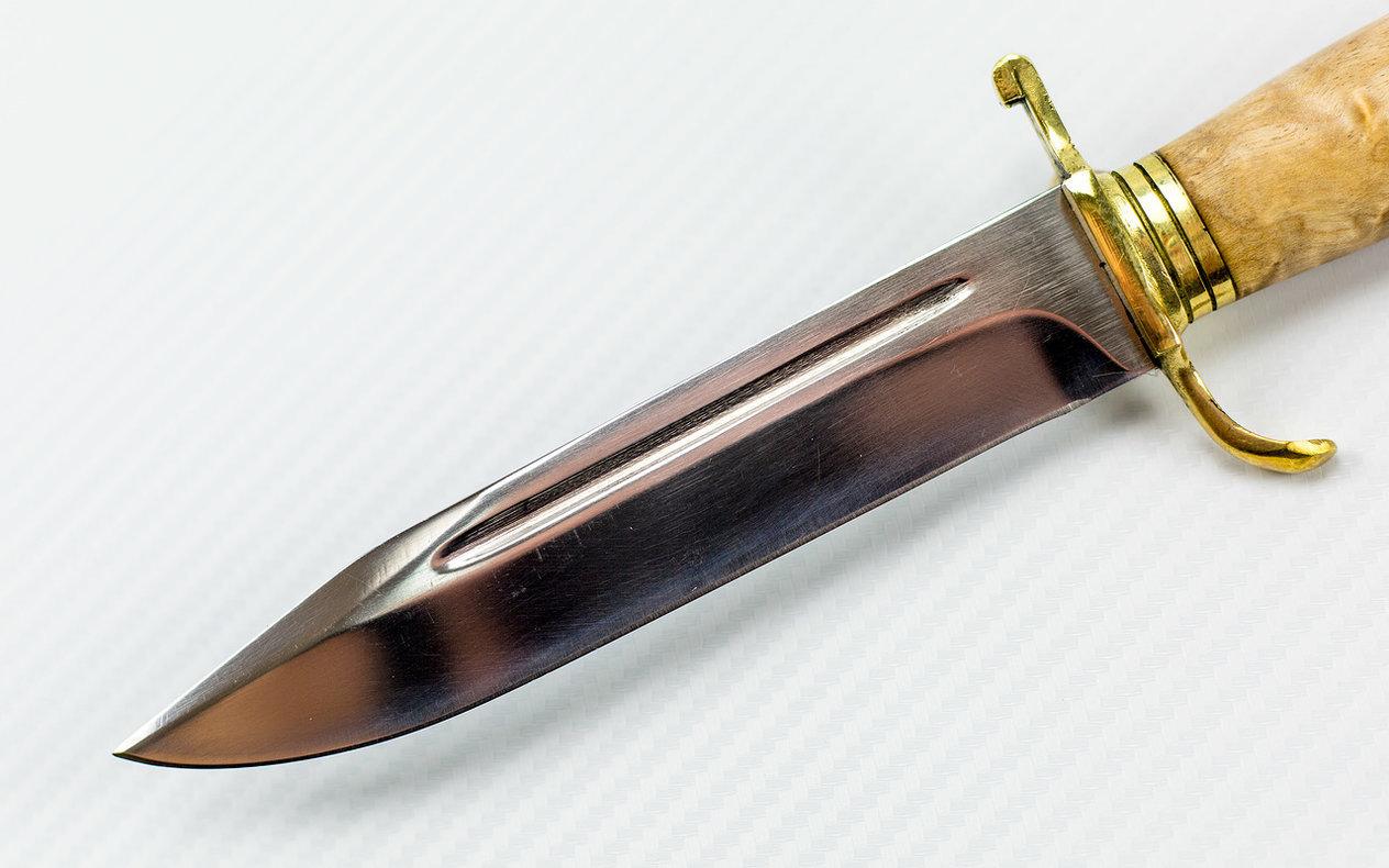 Фото 8 - Нож НР-40, карельская береза от Мастерская Климентьева
