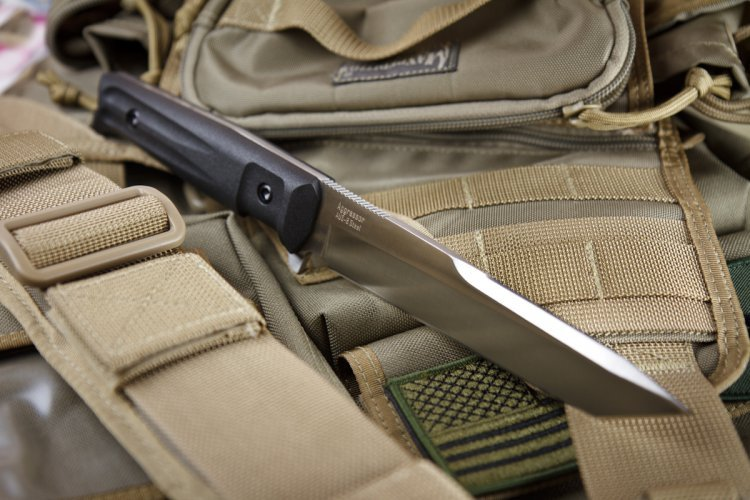 Фото 3 - Тактический нож Aggressor AUS-8 Satin+SW, Kizlyar Supreme