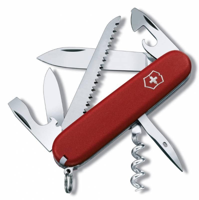 Нож перочинный Victorinox Ecoline 3.3613 91мм 13 функций матовый красный