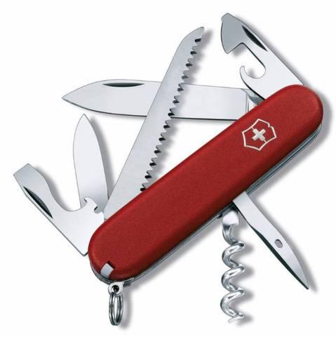 Нож перочинный Victorinox Ecoline 3.3613 91мм 13 функций матовый красный - Nozhikov.ru