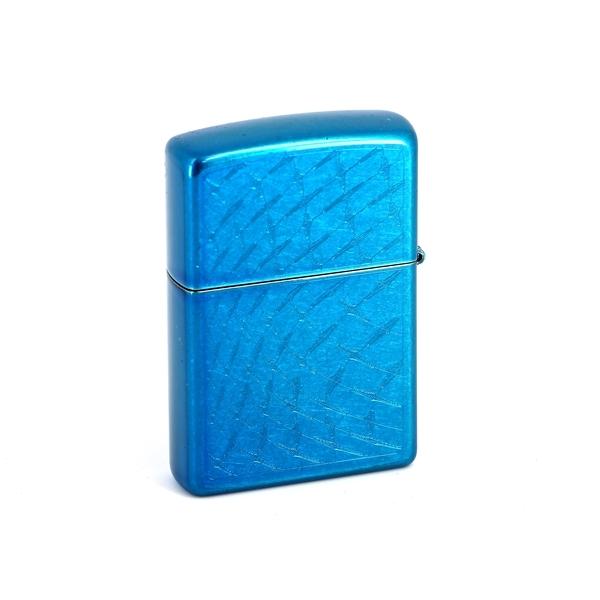 Фото - Зажигалка ZIPPO Classic с покрытием Cerulean™, латунь/сталь, синяя, глянцевая, 36x12x56 мм