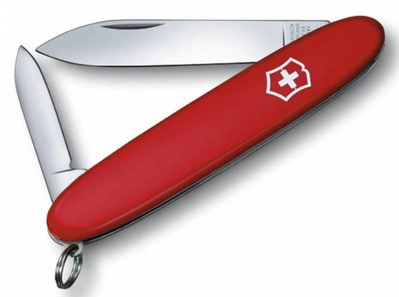 Нож перочинный Victorinox Excelsior 0.6901 84мм 3 функции красныйШвейцарские армейские ножи Victorinox<br>Серия Элегантные карманные инструменты<br><br>Карманный нож EXCELSIOR (0.6901)- это многофункциональный инструмент с набором из 3 функций: <br>Большое лезвие<br>Малое лезвие<br>Кольцо для ключей<br>Длина: 84 мм<br>Цвет: Красный<br>
