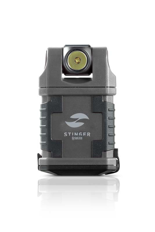Фонарь карманный светодиодный STINGER GripLite PCW-C4A1, 160 лм, 1250 кд, 45x25x83 мм фонарь светодиодный stinger focus 260 лм 5550 кд 98x31 мм 98 гр серебристый в коробке