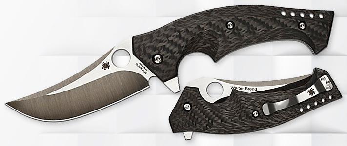 Складной нож Spyderco MambaРаскладные ножи<br>Мамба, это одна из самых крупных и смертоносных змей на планете. Ее укус неимоверно приводит к смерти, если не использовать противоядие. Несмотря на такие грозные возможности, в целом мамба это неагрессивное животное и на человека нападает редко.<br>Материал клинка S30V — одна из самых качественных и самых популярных сталей ножевого дела. Она в 1.5 раза превосходит, достаточно неплохую сталь 440с по способности держать заточку, и 3.5 раза, ее же, по прочности.<br>Кончик ножа усилен ребром жесткости, которое будет оберегать его от скола при боковых нагрузках. Форма клинка хорошо приспособлена для уколов и проникающих ударов.<br>Накладки выполнены из карбона. Это довольно дорогой, но невероятно прочный материал. Он очень легок и не боится влияния химических реагентов. Переплетения карбоновых нитей, вырисовывают уникальную текстуру, поэтому карбон прочно обосновался в сегменте аксессуарных и джентльменских ножей. Стоит отметить, что несмотря на то, что карбоновые нити почти не возможно порвать, этот материал плохо переносит удары, а так же прямое воздействие солнечных лучей.<br>Флипер при открытии формирует гарду. Она, вкупе с подпальцевыми выемками даст уверенный хват, а так же обезопасит пальцы от пореза.<br>