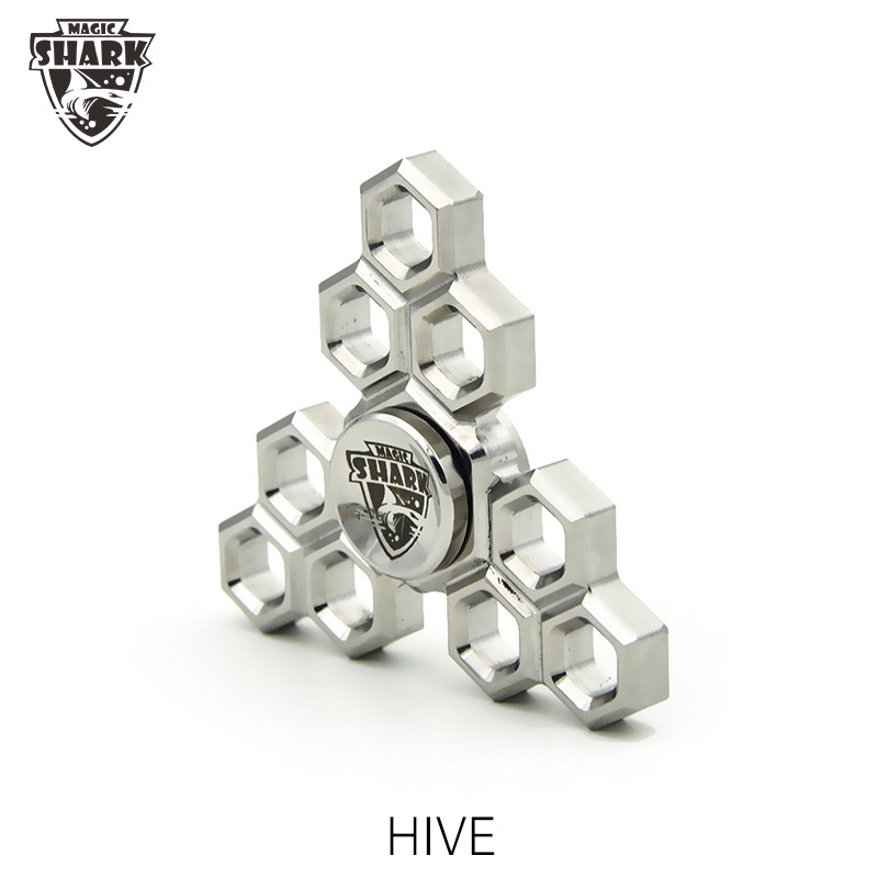 Коллекционный спиннер (Hand Spinner) Magic Hive edc fidget hand spinner aluminum alloy gold