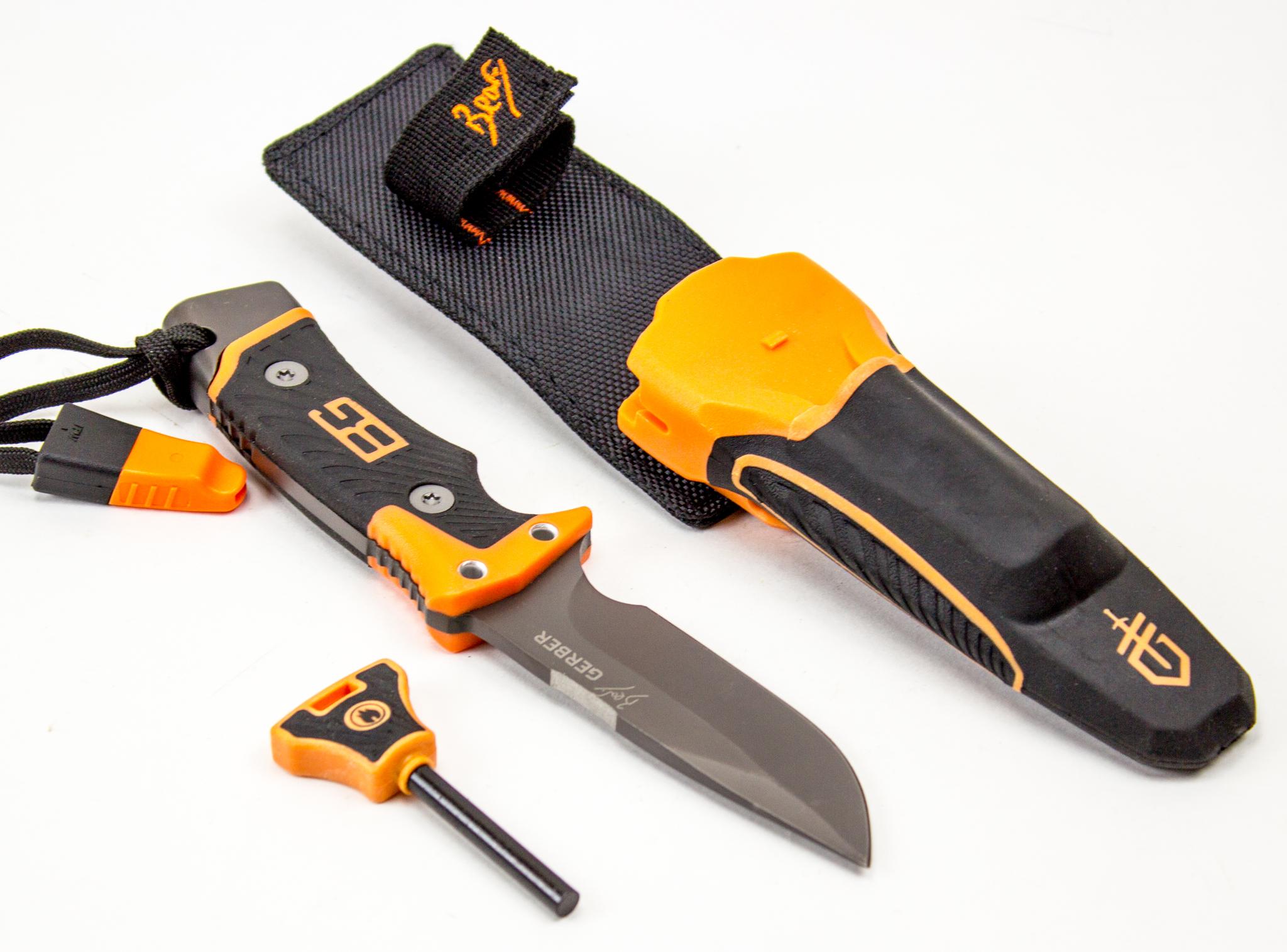 Нож Gerber Bear Grylls с огнивомРыбацкие ножи<br><br>