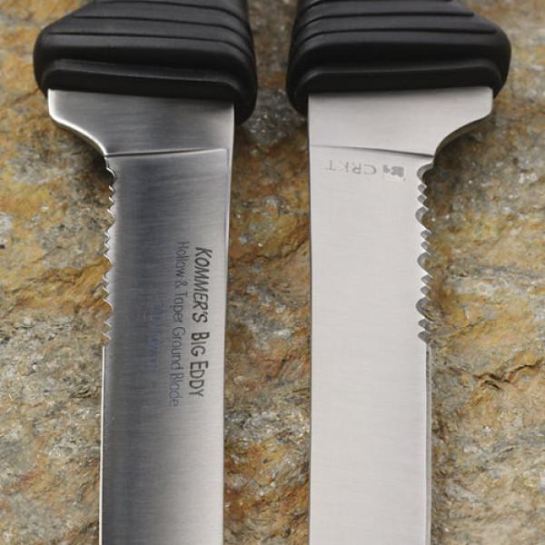 Фото 3 - Нож с фиксированным клинком Russ Kommer Design Big Eddy™ II Fillet w/Spoon, Dual Grind™ Blade от CRKT
