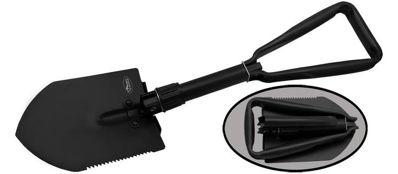 Складная лопатка M9573Viking Nordway<br>Oбщая длина- 480 мм Длина штыка- 156 мм Толщина штыка- 2,0 мм Сталь- 420Рукоять- металлЧехол- нейлон<br>