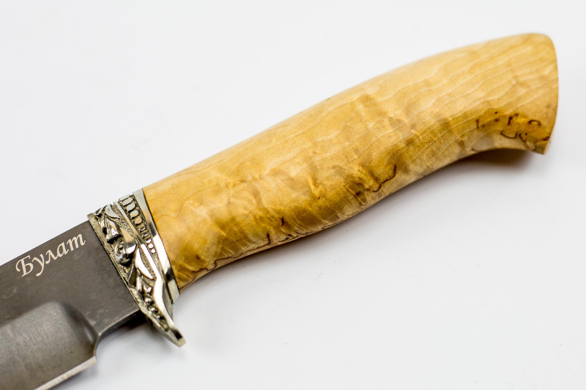 Фото 2 - Хищник-2 булат, карельская береза от Промтехснаб