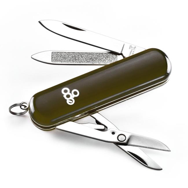 Нож Ego tools A03 брелок чёрный