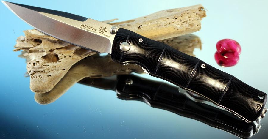 Фото - Складной нож Mcusta MC-0201, VG-10, микарта