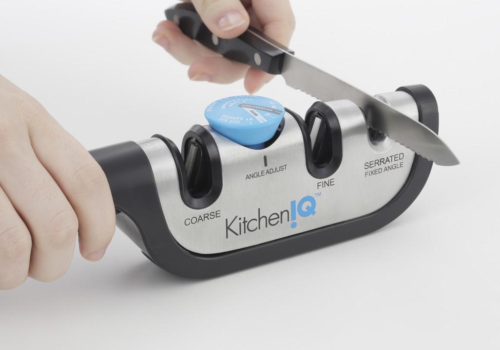Точилка механическая для ножей, с регулируемым углом заточки инструмент для заточки ножей kow 2015 1 360 apex edge 304 3 bb1