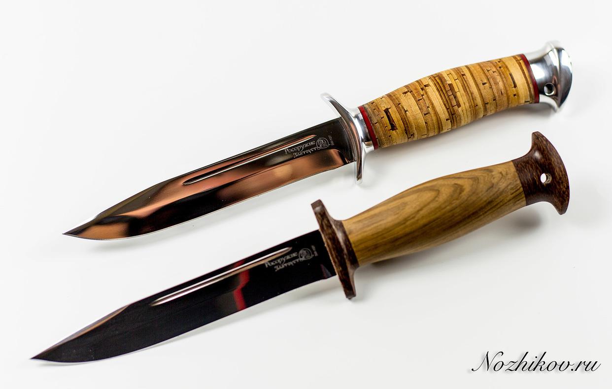 Фото 9 - Нож Разведчик в орехе, Златоуст