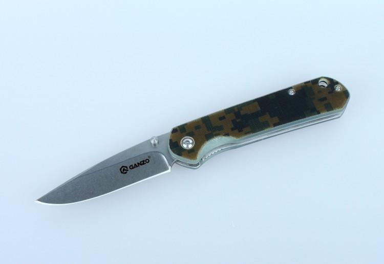 все цены на Нож Ganzo G6801, камуфляж онлайн