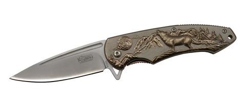 Складной нож полуавтомат