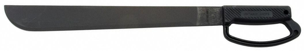Мачете OKC 14 Field - Black D HandleOntario Knife Company<br>Мачете OKC 14 Field - Black D Handle, сталь 1095 карбон, рукоять D-образная, ударопрочный полимер, цвет черный.<br>