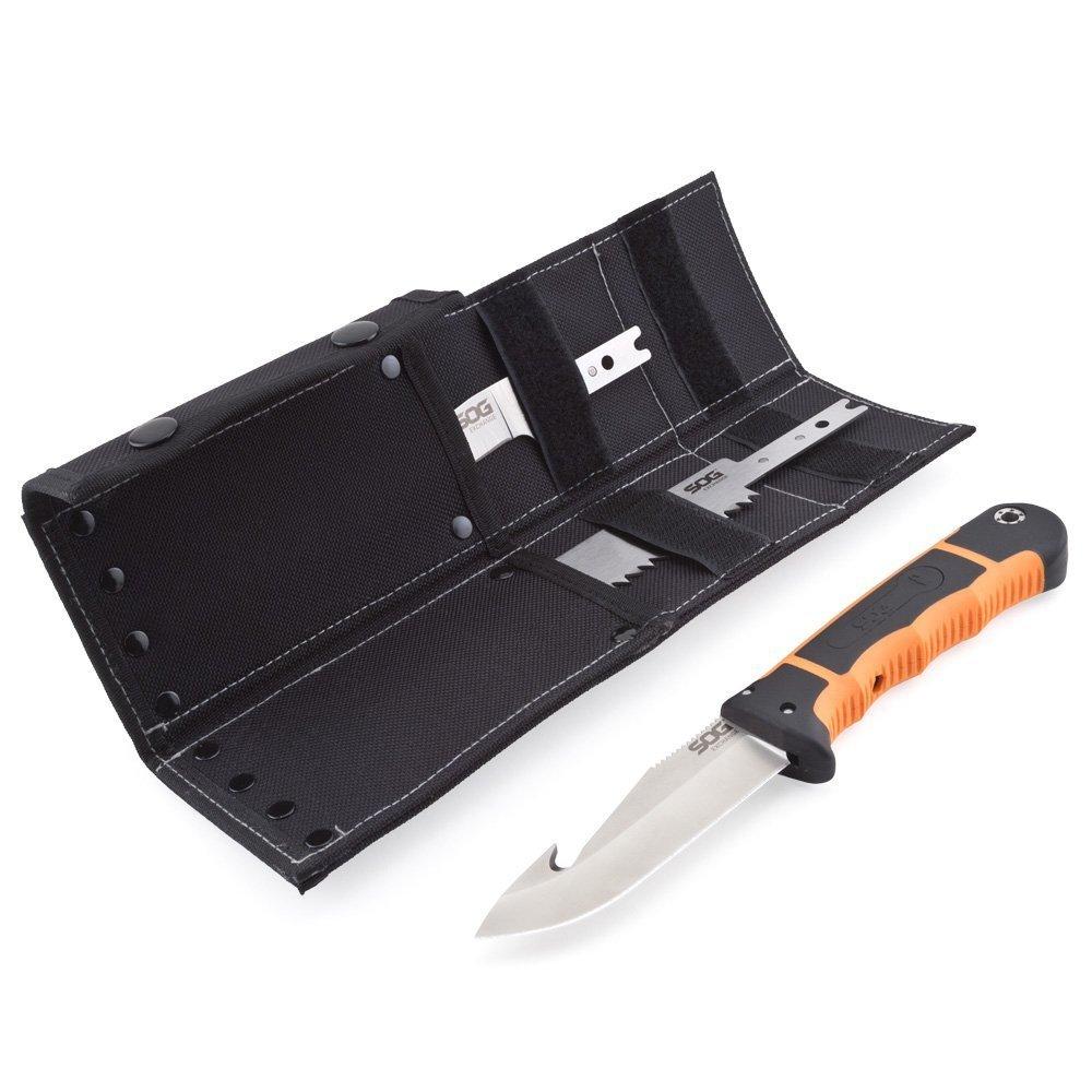 Фото 4 - Нож со сменными лезвиями HuntsPoint Exchange Fixed 10.6 см. от SOG