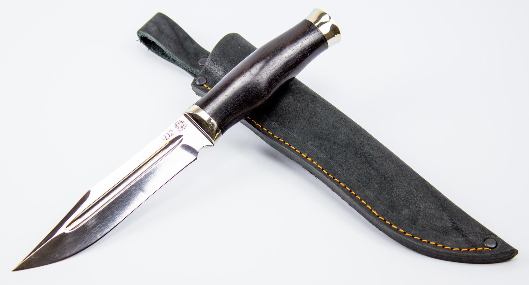 Фото 3 - Военный нож Смерч, D2 от Мастерская Сковородихина