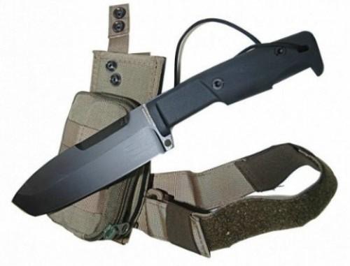 Нож с фиксированным клинком + набор для выживания Selvans, Desert SheathНожи Танто<br>Нож с фиксированным клинком + набор для выживания Selvans, Desert Sheath, клинок черный, рукоять черная, чехол песчаный корд-нейлон+свисток, карманная цепная пила, таблетки для дезинфекции воды, компас, кремень-огненый (для розжига огня без спичек и зажигалок), алмазный точильный брусок, фонарик, трос-стропа (2,5м).<br>
