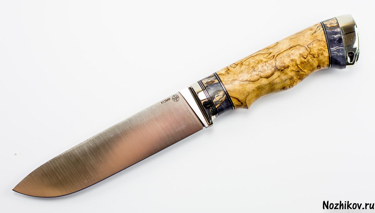 Нож  Приказчикова №1 из Х12МФНожи Павлово<br><br>
