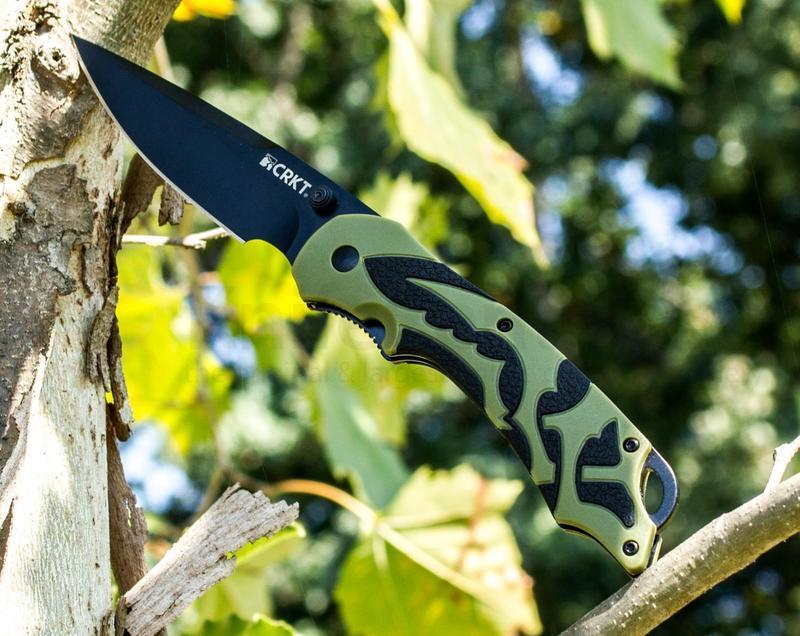 Фото - Полуавтоматический складной нож Moxie Green от CRKT