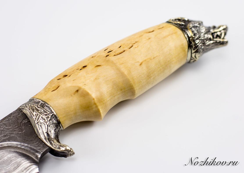 Фото 6 - Авторский Нож из Дамаска №45, Кизляр от Noname