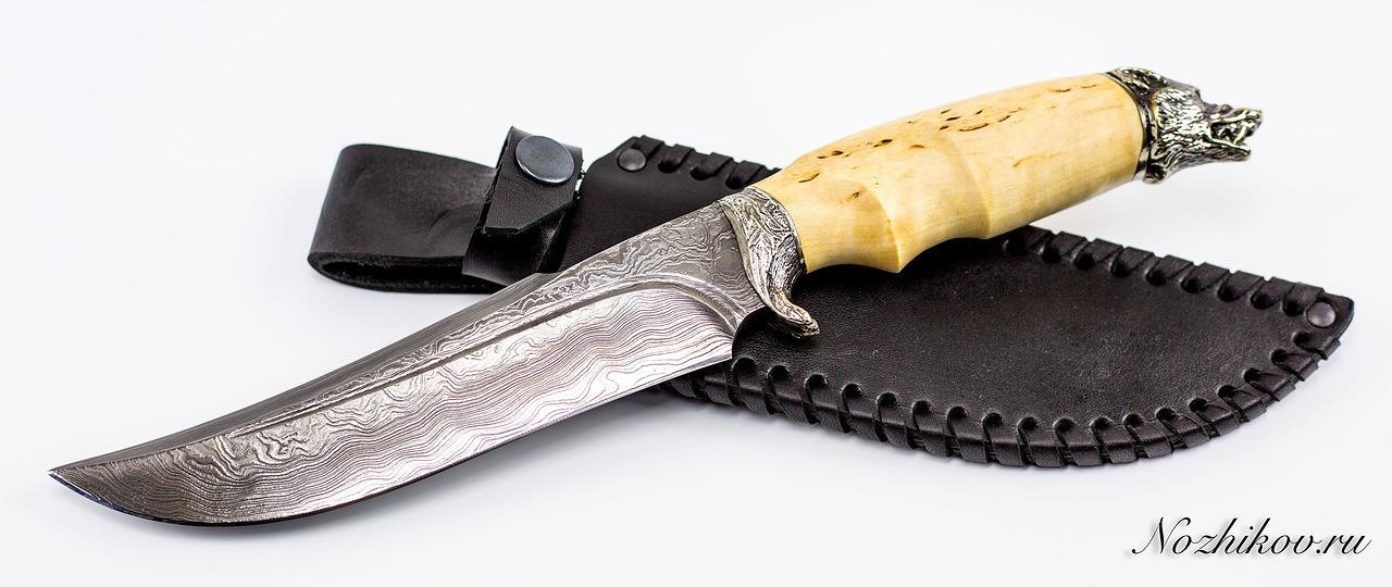 Фото 10 - Авторский Нож из Дамаска №45, Кизляр от Noname