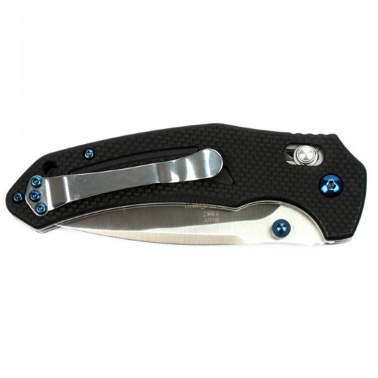 Фото 5 - Складной Нож Firebird (by Ganzo) F7611-BK, черный